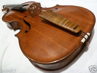 Private COLLECTION to SELL - 52:  A very fine VIOLA - BRATSCHE, original NECK !