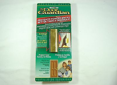 The Door Guardian Security Latch NoForced Entry Reinforcement Lock Childproofing