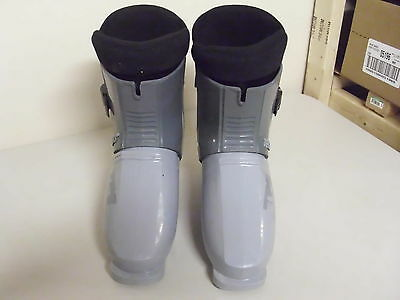 Used Pair Of Grey Tecno Pro Tps Ski Boots Size 7