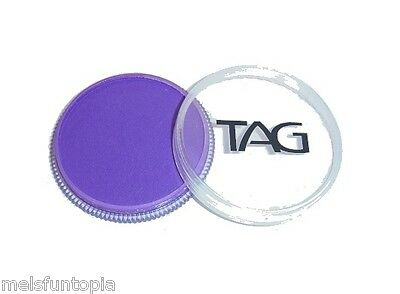 TAG Body Art 32g Pot Regular Purple Professional Face and Body Paint - Make up