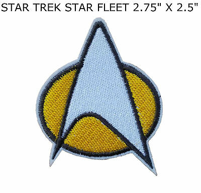 9516899f4 STAR TREK COMMAND Logo Embroidery Iron On Patch Badge - $3.97   PicClick