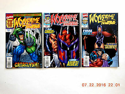 Marvel Comics Wolverine Days Of Future Past#1-3 Complete Comic Book Set! New!