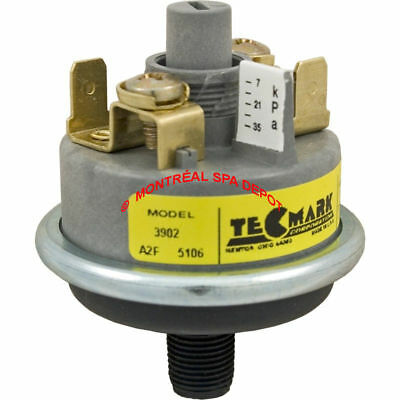 """Tecmark spa hot tub heater PRESSURE SWITCH model 3902 1/8""""mpt connection 1-5psi"""