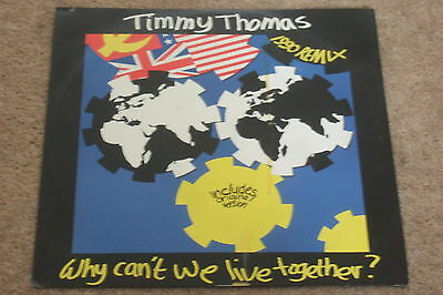 Timmy Thomas ‎– Why Can't We Live Together      1990  NEAR MINT!!