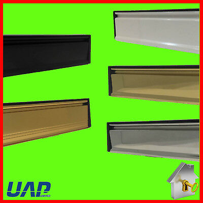 Uap Door Letterbox / Letter Plate- All Colours