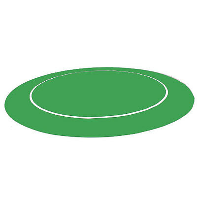 "New Green Sure Stick 54"" Round Rubber Foam Poker Rollout Table Top Felt"