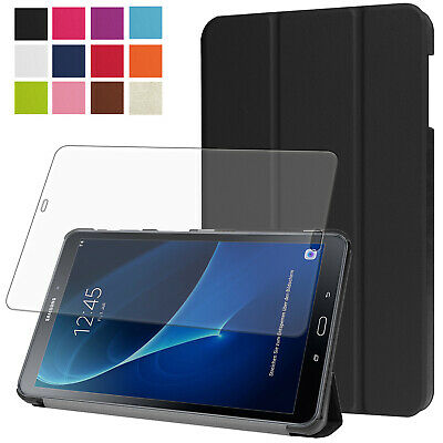Smart Cover f. Samsung Galaxy Tab A 10.1 T580 T585 A6 Tasche Case Etui+Folie-3
