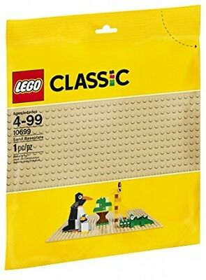 LEGO Classic Sand Baseplate - New, Free Shipping