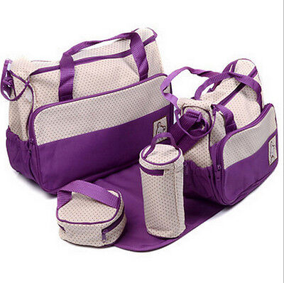 5piece Set Multifunction Maternal and Baby Bag High Capacity Pregnant Women Bags