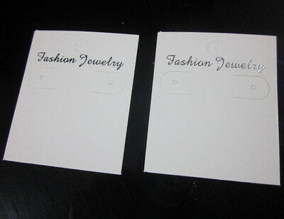 White Paper Jewelry Packaging Hang Hanging Earring Card Display Card