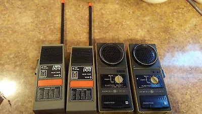 Vintage General Electric Portable Walkie Talkie Radios Morse Code