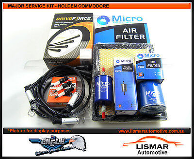 Major Service Kit - DRIVEFORCE H/Shield Leads for HOLDEN COMMODORE VT 3.8Ltr V6