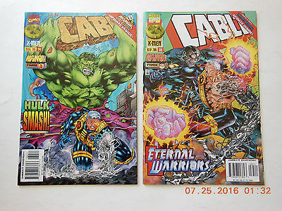 Marvel Comics Cable Vol 1 #34-35 Onslaught Phase 1 & 2 Comic Book Set! New!