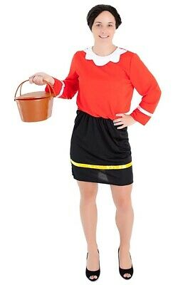 olive oyl popeye sailor adult womens fancy dress halloween costume