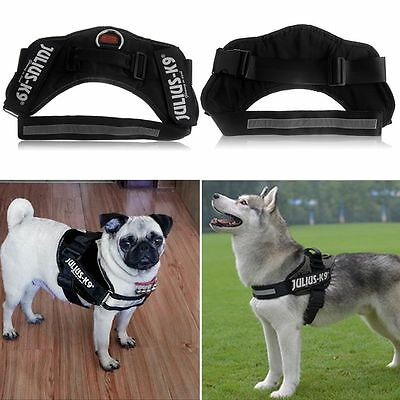 Heavy Duty Adjustable Soft Padded Non Pull Dog Harness Vest Small to Extra Large