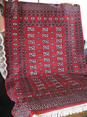 Old Turkmen Turkmenistan Turkish Rug… with wonderful reds & natural dyes...