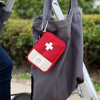 Mini Emergency Bag First Aid Kit Pack Travel Survival Treatment Rescue UK
