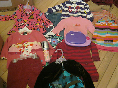 Lot Of Girls Clothes Size 24 Mos Plus Leap Frog Toys