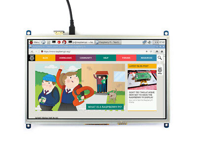 10.1inch HDMI LCD Raspberry Pi Display 1024×600 Resistive Touch Screen I/O