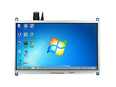 1024×600 10.1inch Resistive Touch Screen HDMI I/O Interface LCD for Raspberry Pi