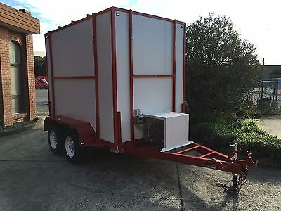 10ft x 6ft  mobile cool room Coolroom Portable coolroom trailer walk in 3500GVM
