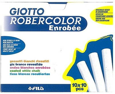 Craies Blanches Enrobees X 100 Pieces Giotto