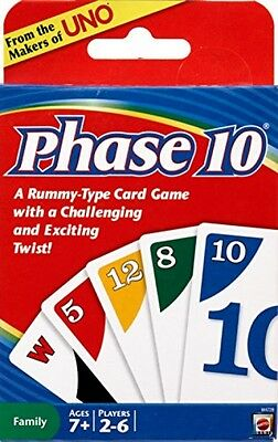 Phase 10 Card Game - New, Free Shipping