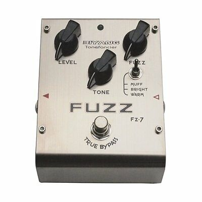 Biyang Fuzz FZ-7 Distortion Effects Pedal
