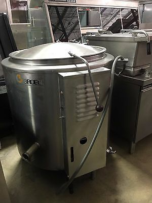 Groen Self Contained Steam Jacketed Kettle 40 Gal - Gas