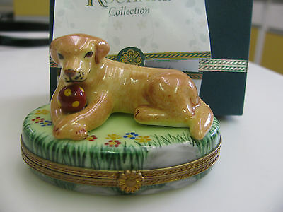 Limoges LABRADOR Dog  Box
