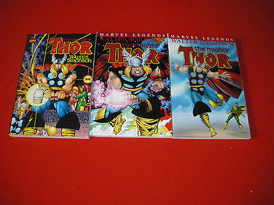 Thor Visionaries - Legends Vol 1 - 2  - 3  Walter Simonson Graphic Novel New/nm