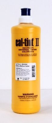CAL-TINT II EXTERIOR MEDIUM YELLOW Universal Tinting Colorant