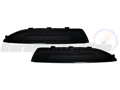Volkswagen Scirocco Front LED DRL + Indicators Daytime Running Lights Smoked VW