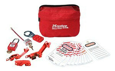 MasterLock 7 Piece Electrical Lockout Pouch Kit