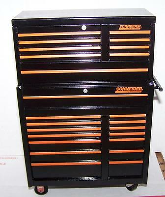 SCHNEIDER NATIONAL Advertising Die Cast Tool Box Coin Bank w/ Key     LAST 1