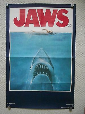 Jaws, Original Double Crown Advance Poster, Steven Spielberg classic, '75
