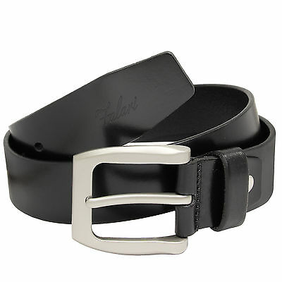 Falari Men's Genuine Leather Belt Jeans Belt 9001