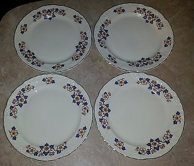 (4) Vintage Taylor Smith Taylor Dinner Plates   9 36 2