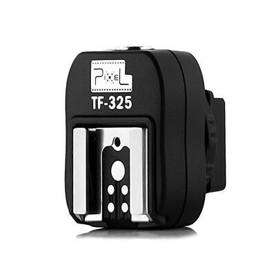 New TF-325 Flash Shoe to PC Sync Convert Adapter for Sony Konica Minolta camera