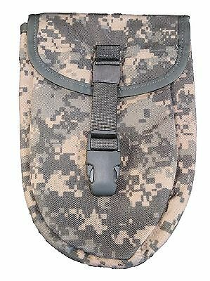 NEW E Tool Pouch ACU Entrenching Carrier Tri fold Shovel Case Army MOLLE