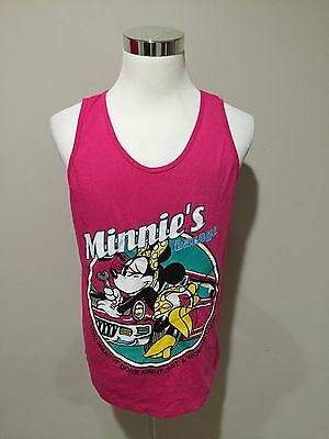 Rare Vintage 90's Minnie Mouse Tank top Shirt Sz Large Made In USA