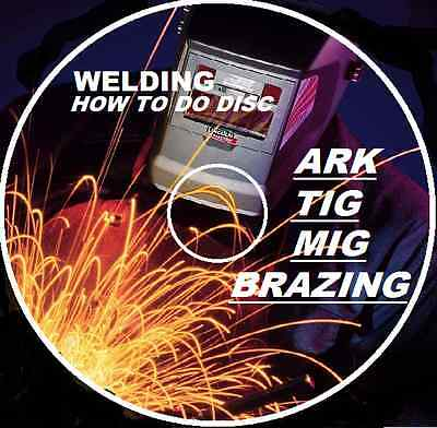 HOW TO TIG MIG ARC OXY BRAZE WELDING GUIDE  and  SPRAY PAINTING HOW TO GUIDE CD