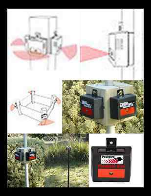 3 Deterrent for FOXES, PIGS, Wild dog-dingo, wallaby, possum