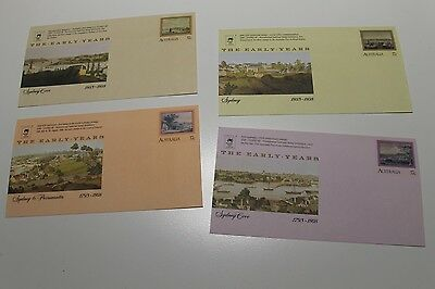 Mint 1988 Sydpex 88 Logo Pse Covers Early Years Set Of 4