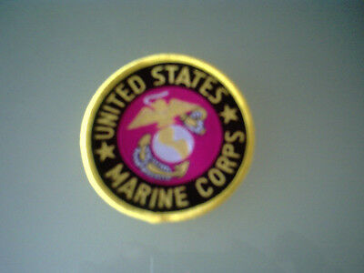 UNITED STATES MARINE CORPS SEW ON PATCH COSTUME DRESS UP 6.4cm wide