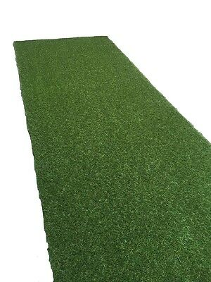 Artificial Grass Mat 30mm Thickness Greengrocers Fake Astro Turf Lawn 1m x 4m