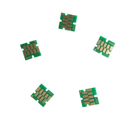 5x EPSO N Ink cartridges one-time chips for Epson T7070  T3270D T5270D T7270D
