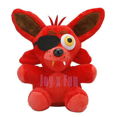 Five Nights at Freddy Foxy Animatronic Fox Soft Stuffed Toy Collect Plush Doll