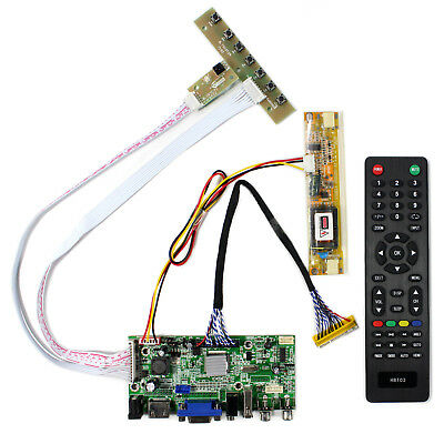 LCD driver board HDMI VGA 2AV USB Audio for 17Inch 1440x900 30Pin CCFL LCD Panel