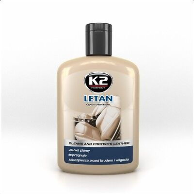 K2 Pro Letan Cleans And Protects Leather Stains Removal Impregnation 200Ml